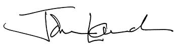 John Lauck's Signature
