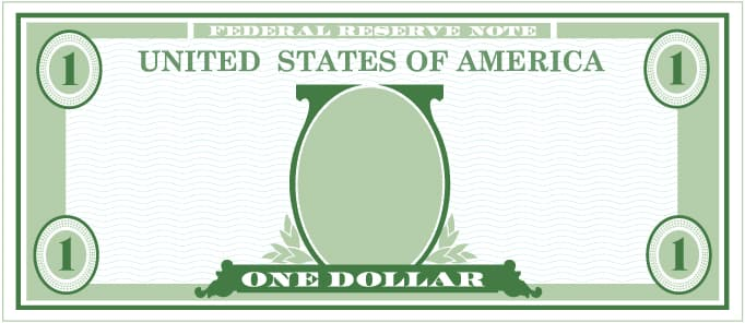 Dollar bill showing how donations impact Monument Health